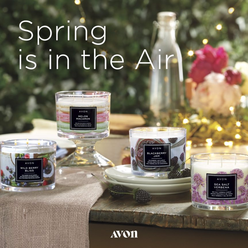 Garden Party Candles from Avon