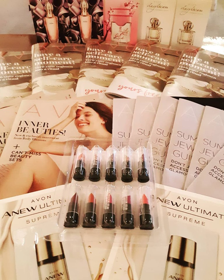 Getting ready for Avon Campaign 13!  May 29 - June 11 youravon.com/mybeauty