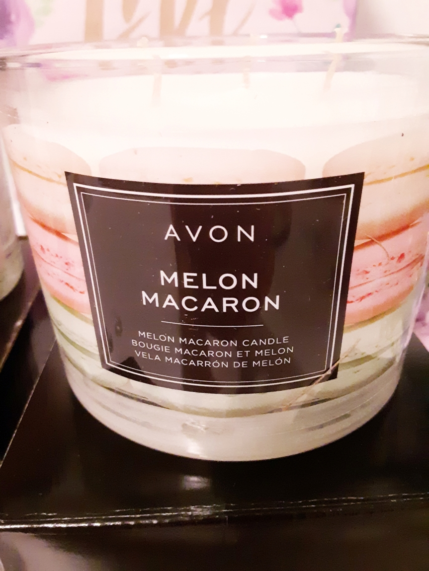 Melon Macaron Candle from Avon