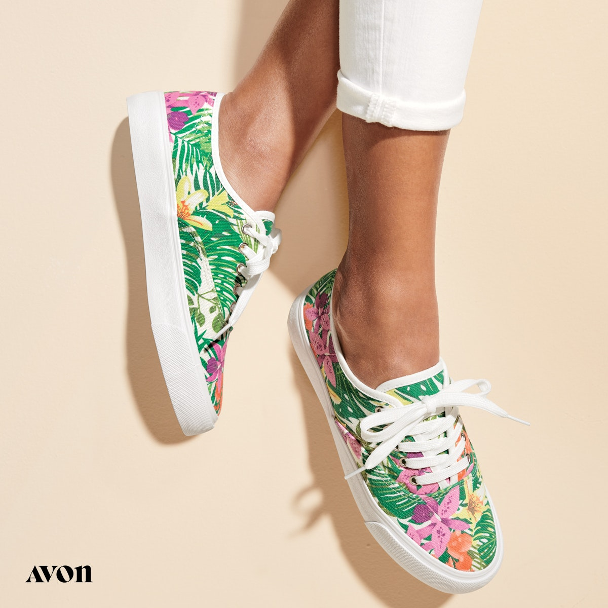 Printed Summer Sneaker from Avon 19.99
