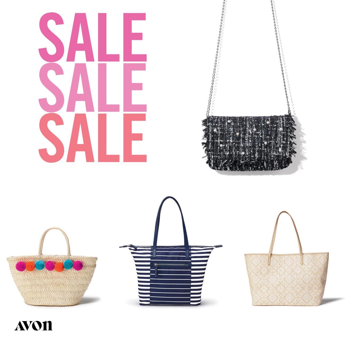 Avon Purse and Tote Sale