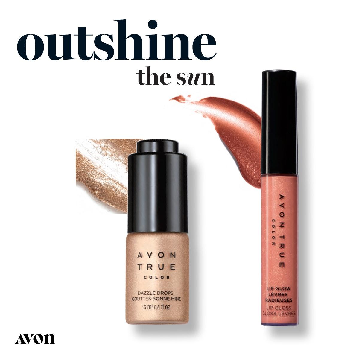 Avon True Color Dazzle Drops.  Sunkissed Shimmer. https://www.avon.com/product/avon-true-color-dazzle-drops-61117?rep=mybeauty