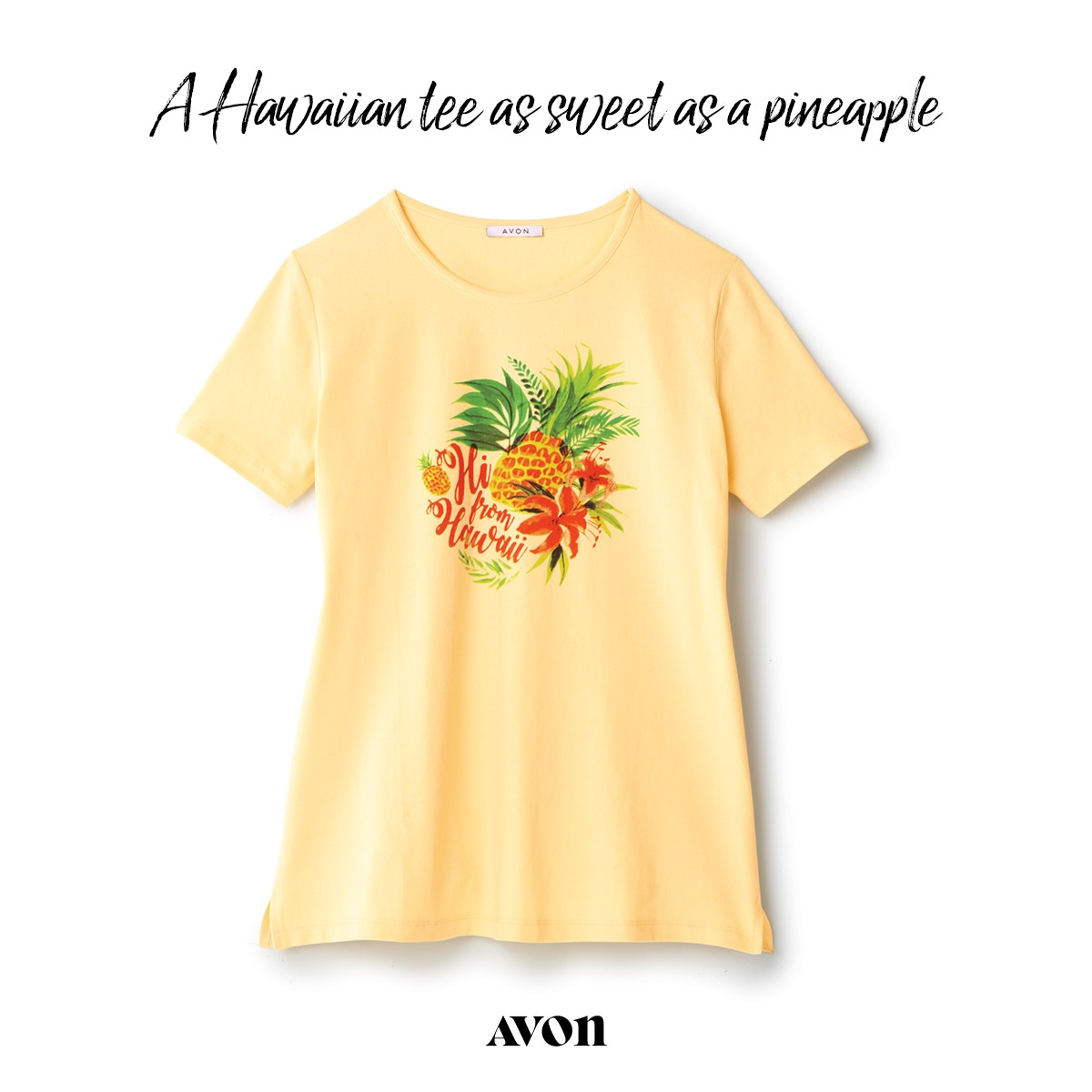 Hi from Hawaii Tee from Avon