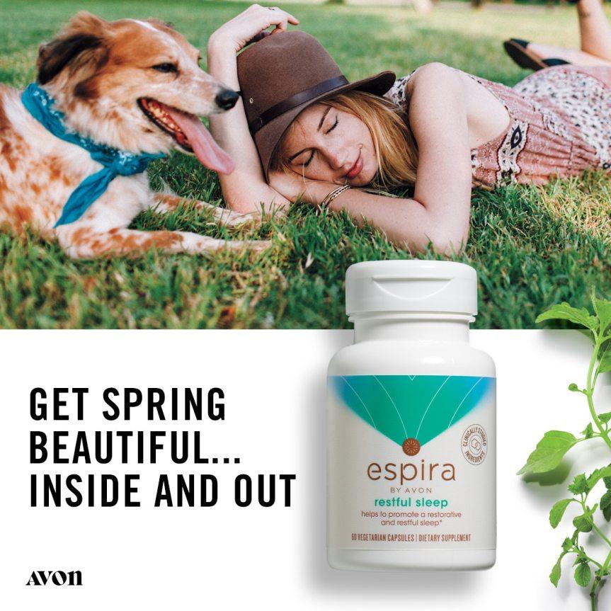 Avon's Espira Restful Sleep All Natural Supplement