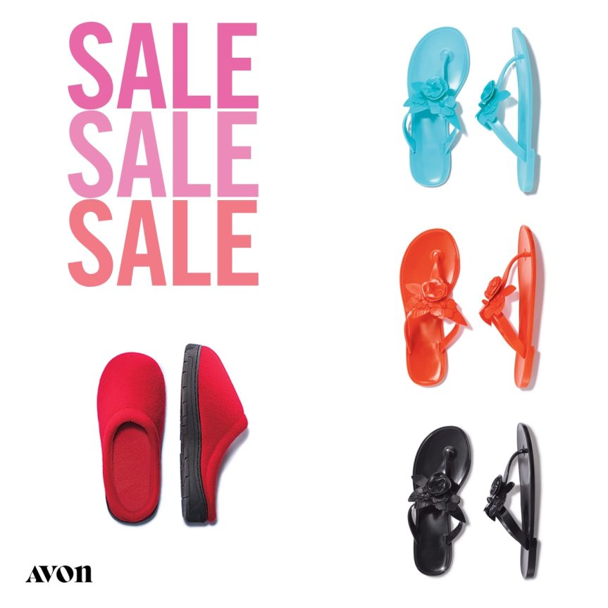 Avon Shoe and Slipper Sale
