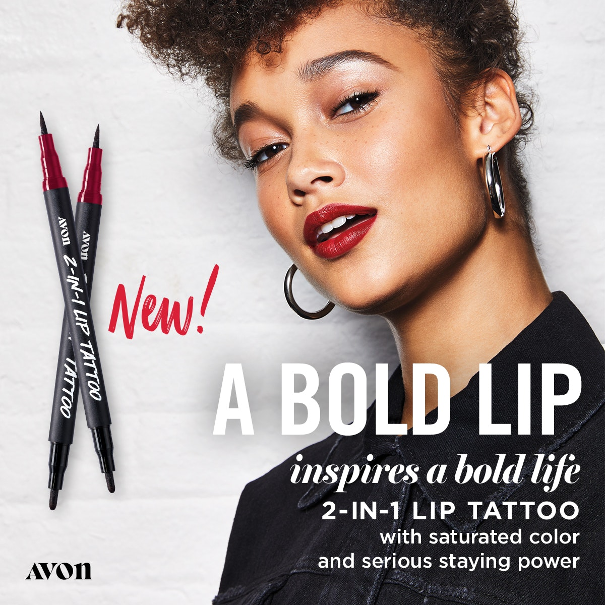 2-IN-1 Lip Tattoo from Avon