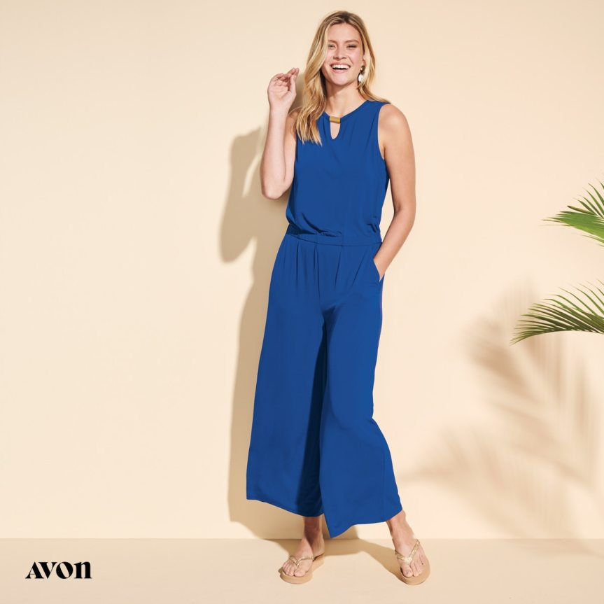 Ella Knit Jumpsuit by Avon