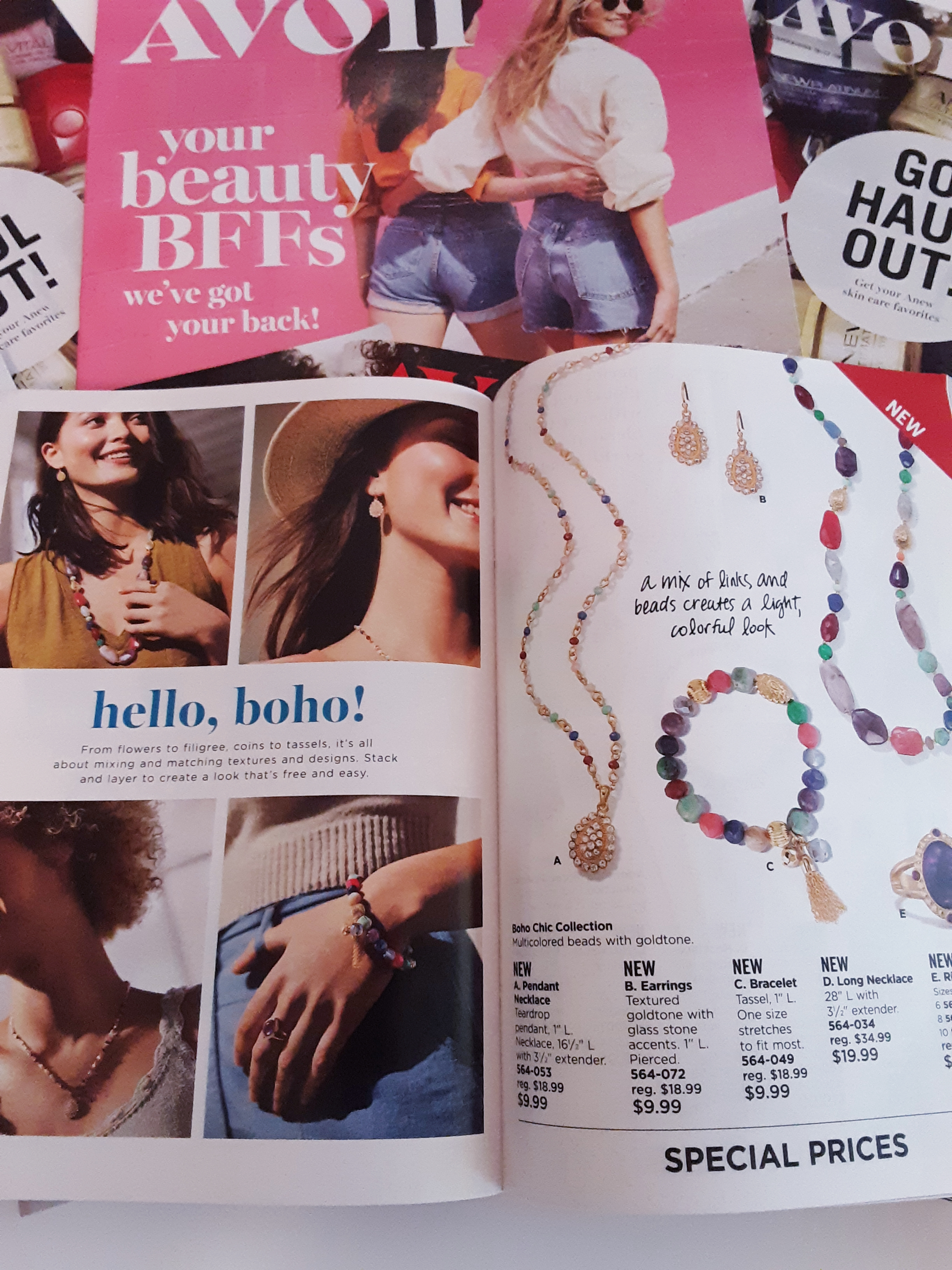 New Boho Fashion Jewelry from Avon