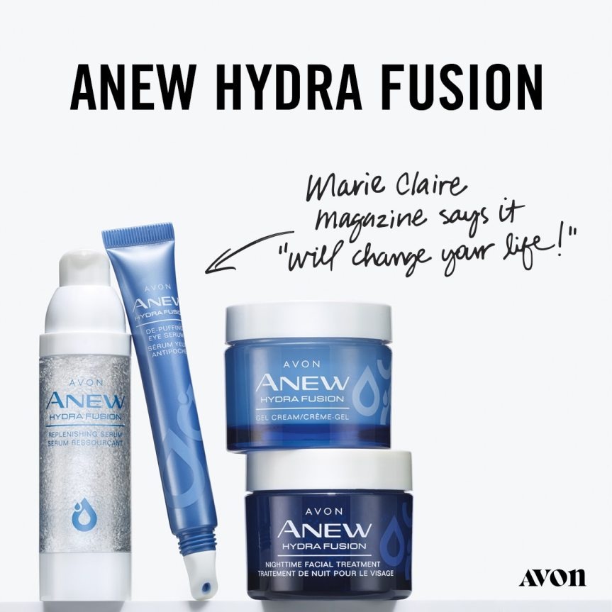Anew Hydra Fusion unisex skin care