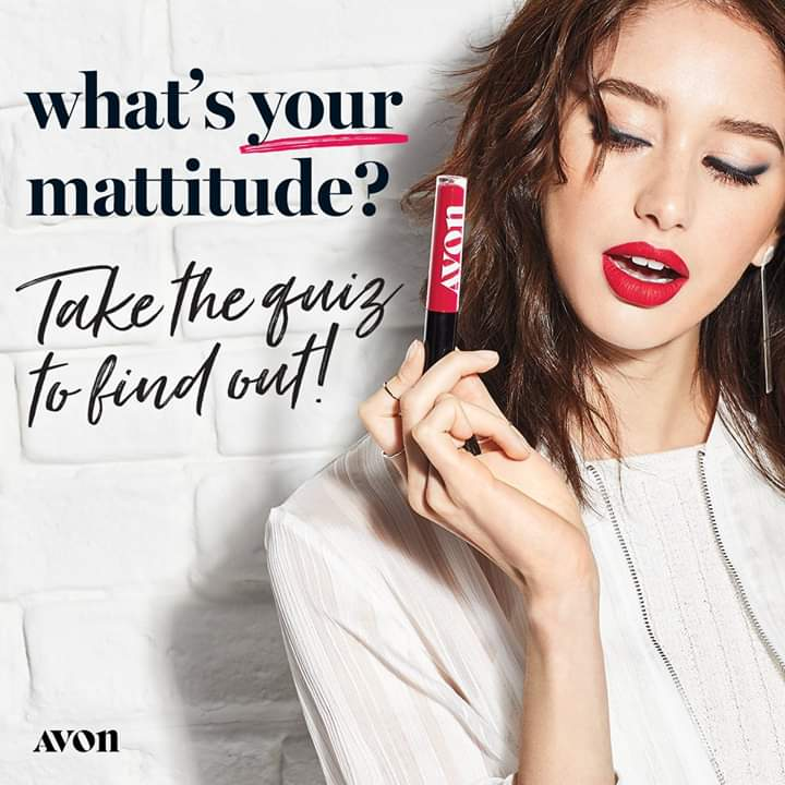 Take the Mattitude Lipstick Shade Quiz!  https://www.whatsyourmattitude.com/mybeauty