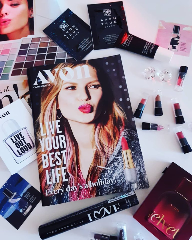 Sign up to receive free Avon samples.