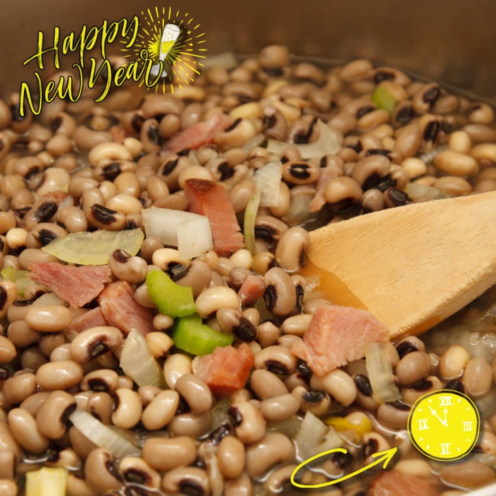Black-Eyed Peas for New Years Good Luck