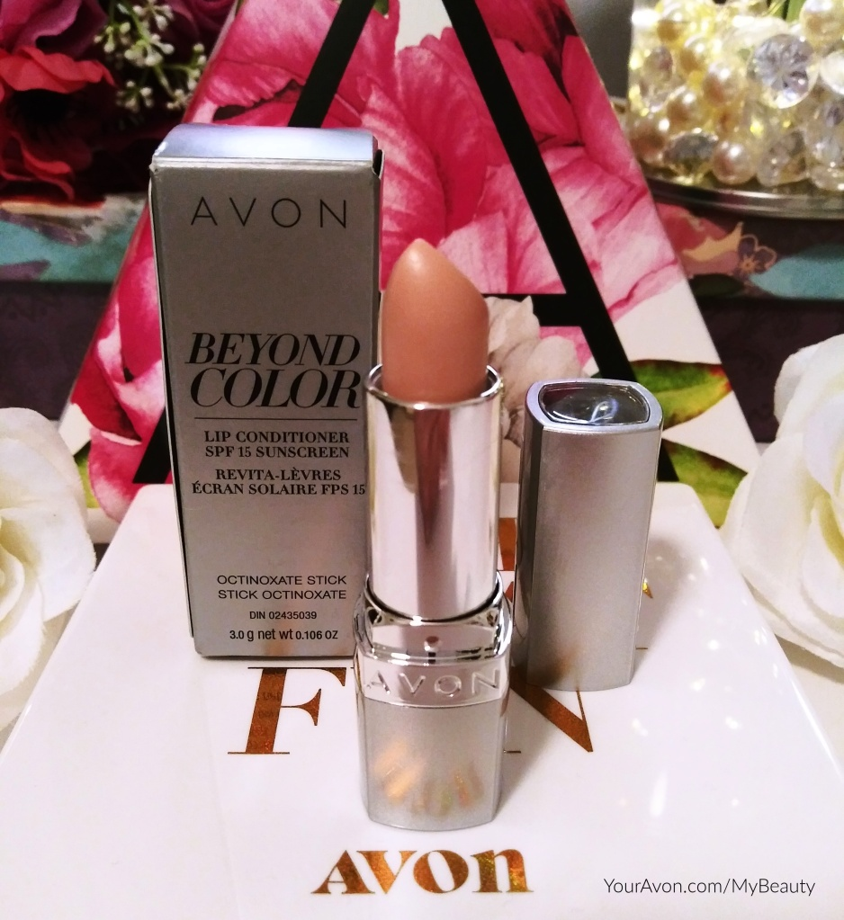 Beyond Color Lip Conditioner from Avon with SPF 15.
