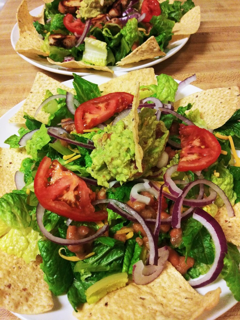 Pretty Taco Salad