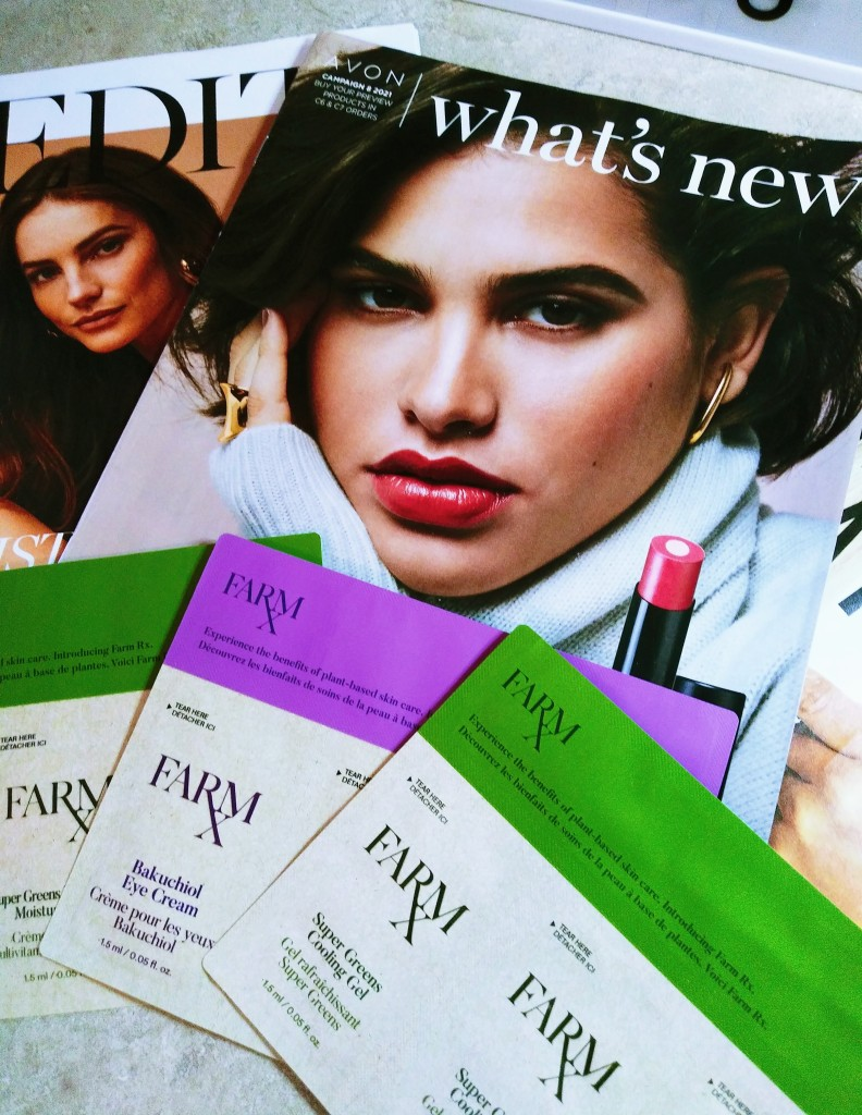 What's new at Avon plus Farm RX Plant Based Super Greens Skin Care
