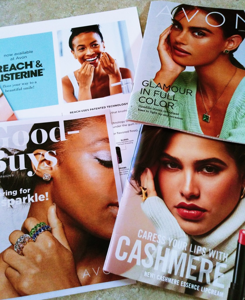 Coming up in Avon Campaign 8.  Plus Reach and Listerine products now available at Avon.
