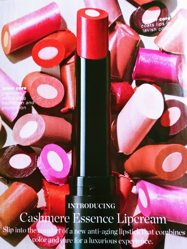 New Cashmere Essence Anti-Aging Lipcream from Avon coming soon.