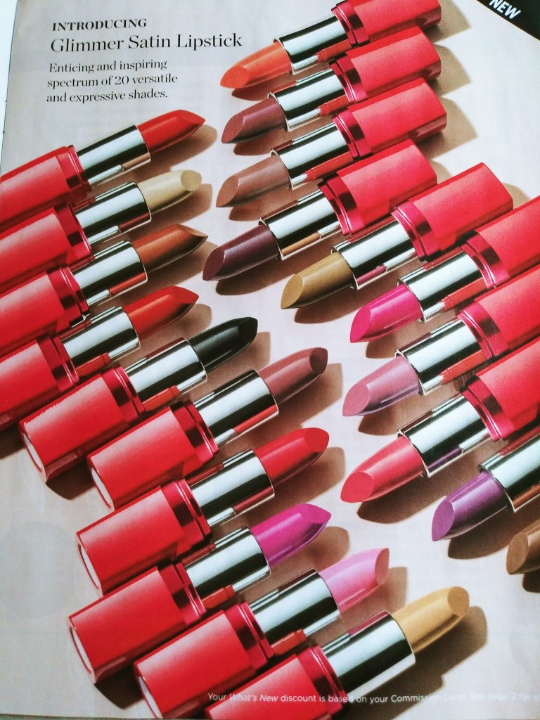 New Glimmer Satin Lipstick from Avon coming soon in Campaign 8