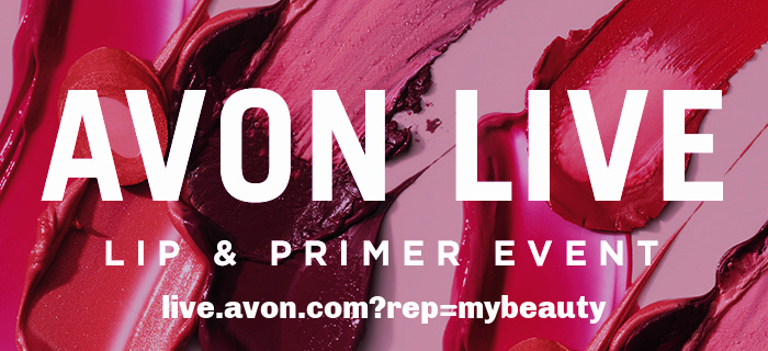 Avon live watch and shop event tonight.