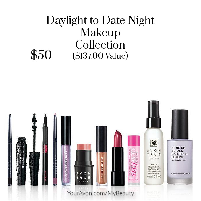 Daylight to Date Night Makeup Collection. $137.00 value for $50.00