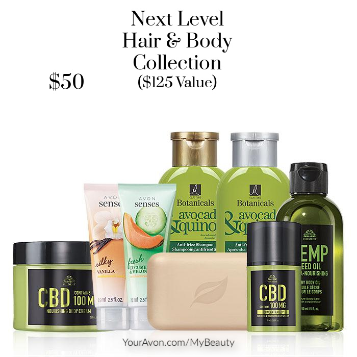 Next Level Hair & Body Collection. $125 value for $50
