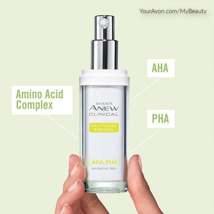 New Isa Knox Anew Clinical Revitalize and Reveal Intensive Peel from Avon