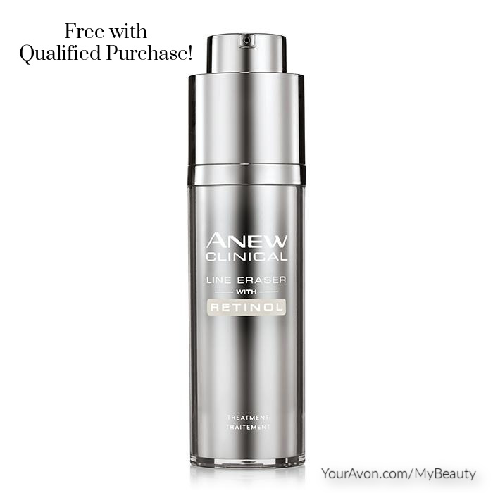 Free Gift.  Anew Clinical Line Eraser with Retinal with Qualifying Purchase