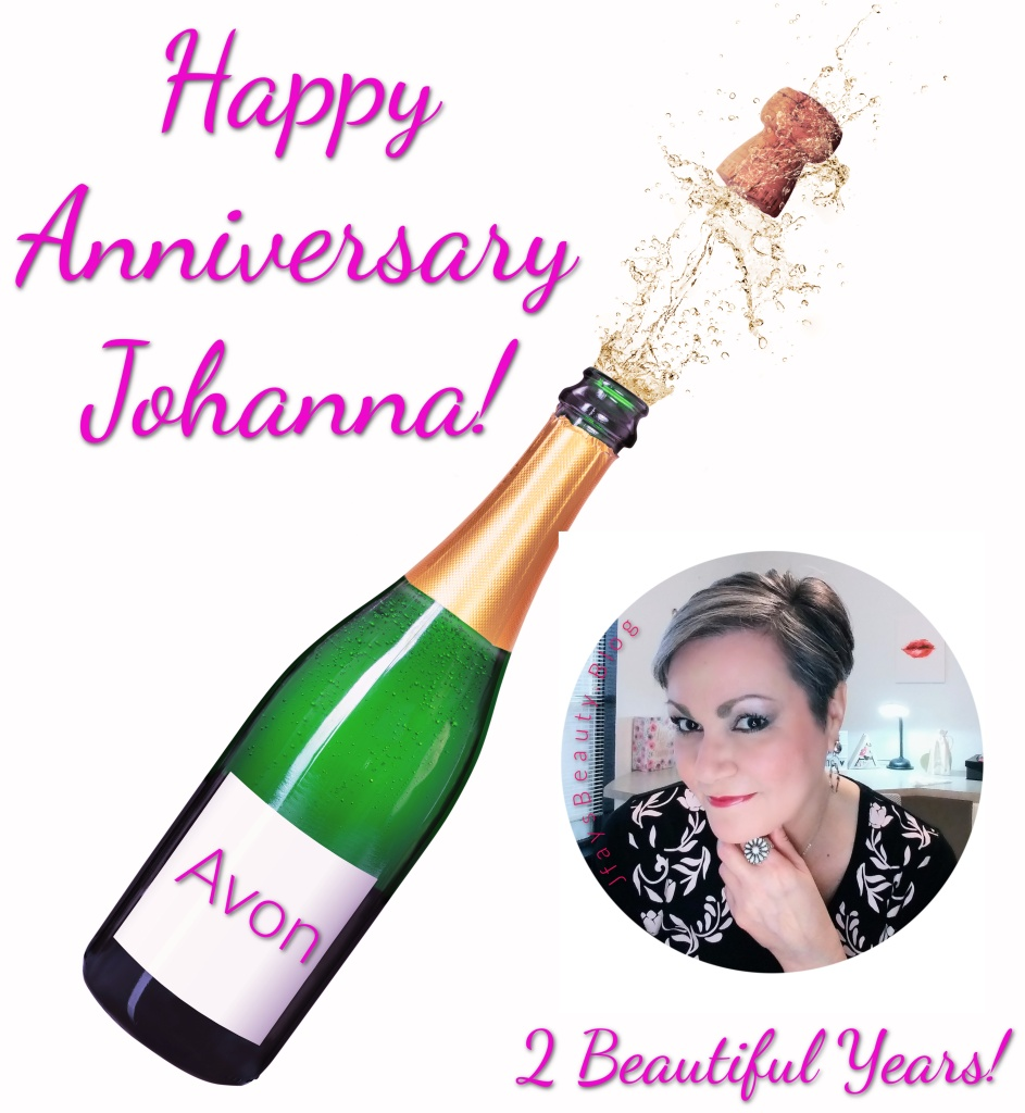 Celebrating my 2nd Avon Anniversary!