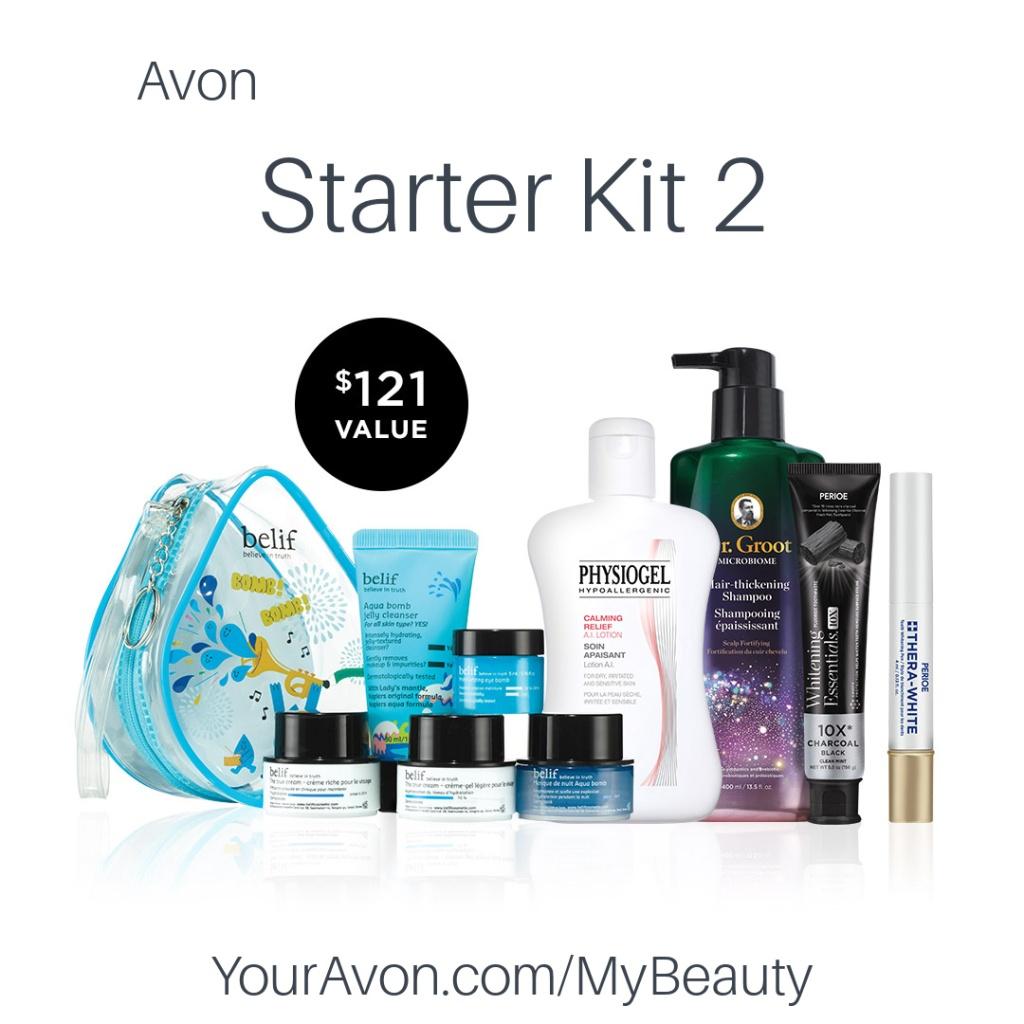 Avon Starter Kit 2 for new Representatives