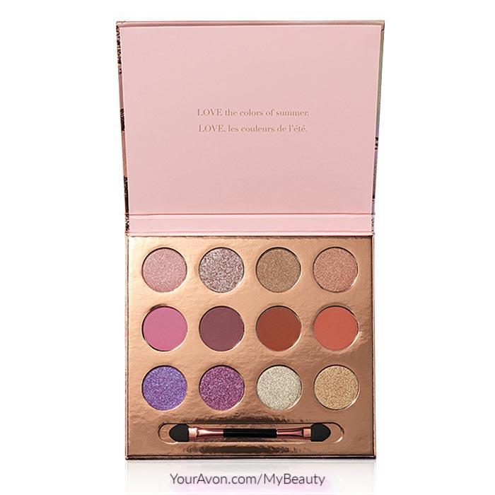 Avon fmg Colors of LOVE Eyeshadow Palette