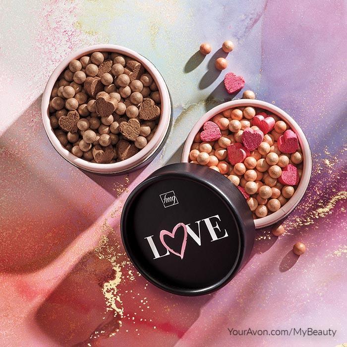 Avon Colors of LOVE Glow Beads Illuminating Powder