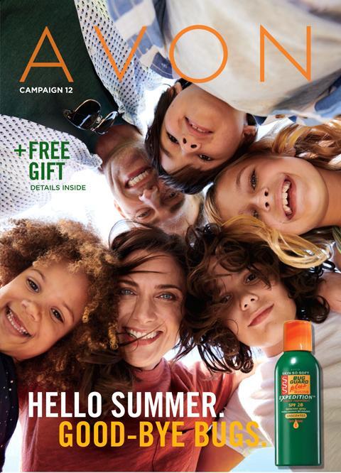 Avon Campaign 12 Brochure.  Shop Avon products online.