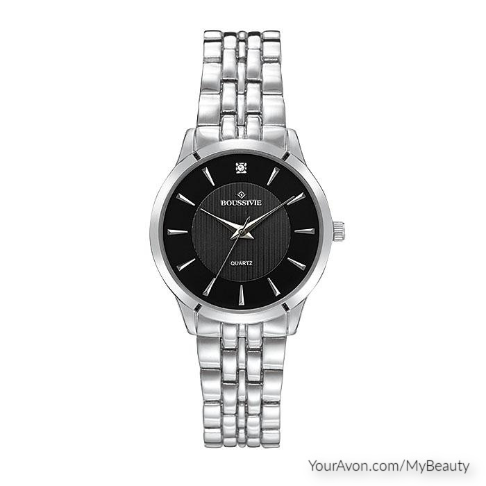 Hers Crystal Accent Watch by Avon
