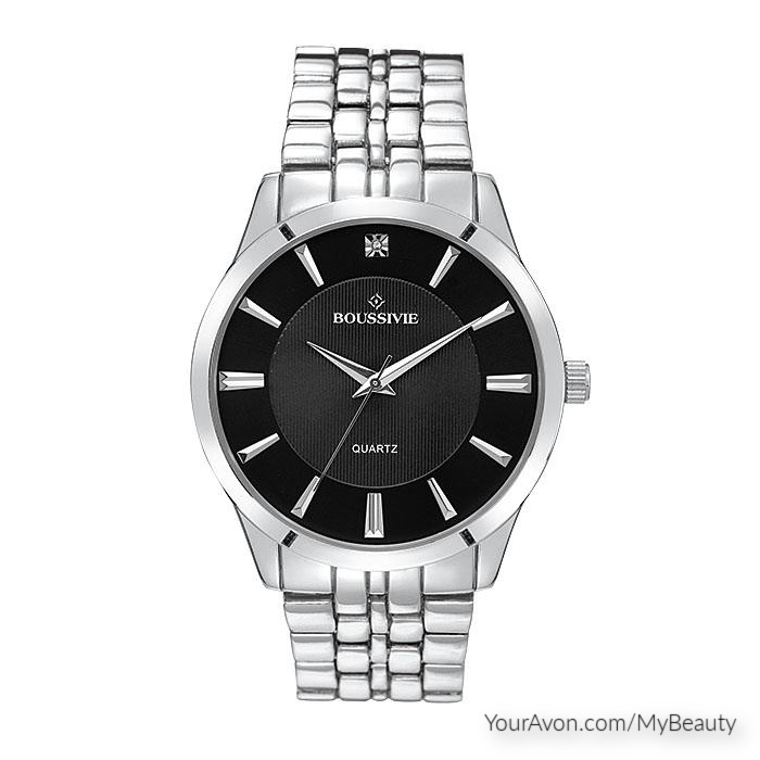 His Crystal Accent Watch by Avon