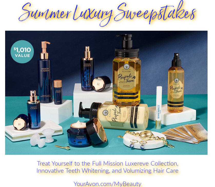 Summer Luxury Sweepstakes from Avon