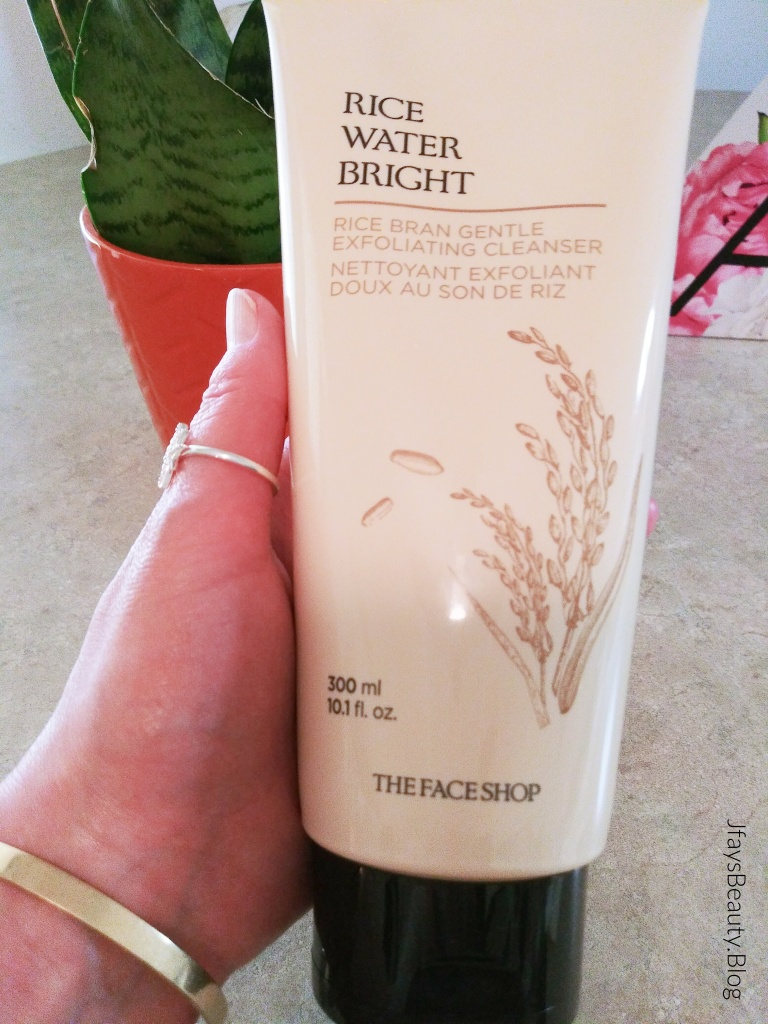 Rice Water Bright Gentle Exfoliating Cleanser from Avon x The Face Shop.
