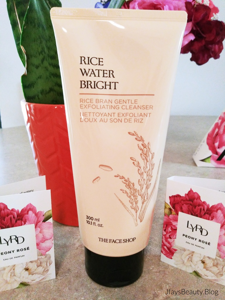 Rice Water Bright Rice Bran Gentle Exfoliating Cleanser from Avon.  For a brighter, smoother complexion in one easy step.