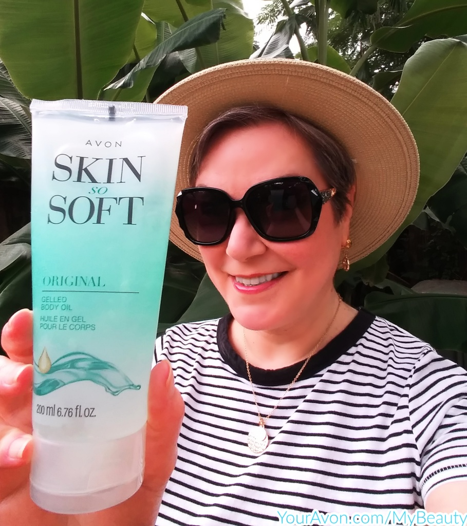 Trying Avon's Original Skin So Soft Body Oil as an Insect Repellent and Honest Review.
