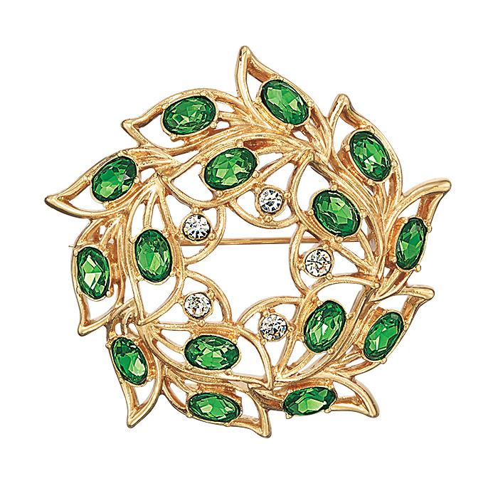Iconic Collectible Wreath Brooch Pin from Avon.
