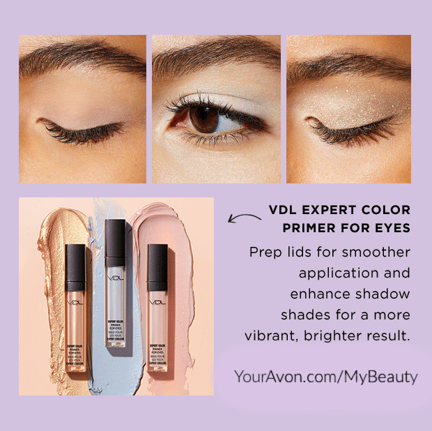 VDL Expert Color Primer for Eyes.  The versions to choose from:  Shimmer, Serenity, and Original.