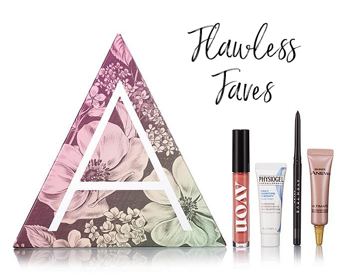 Flawless Faves Avon A-Box for $10 with any $40+ order.