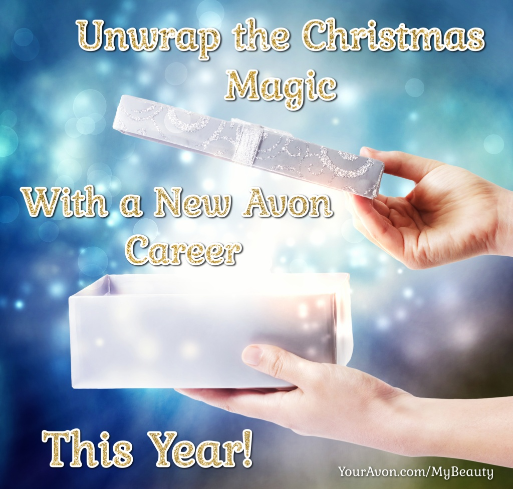Join Avon for the holidays this year with a new Avon career.  Earn extra money for the holidays, shop for Christmas gifts at a discount, or both.