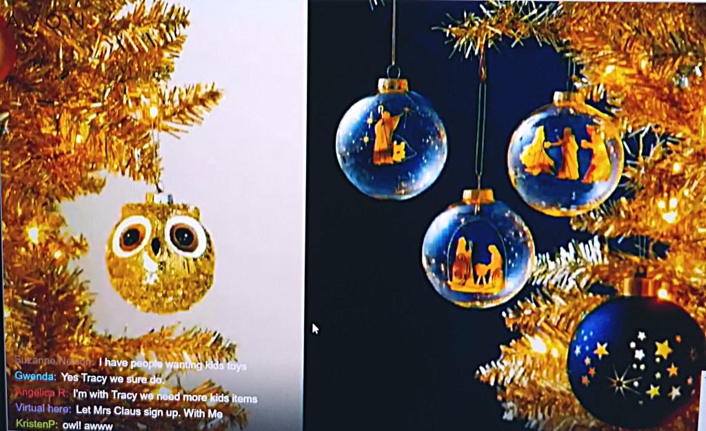 Avon 2021 Christmas Ornaments - Starry Night