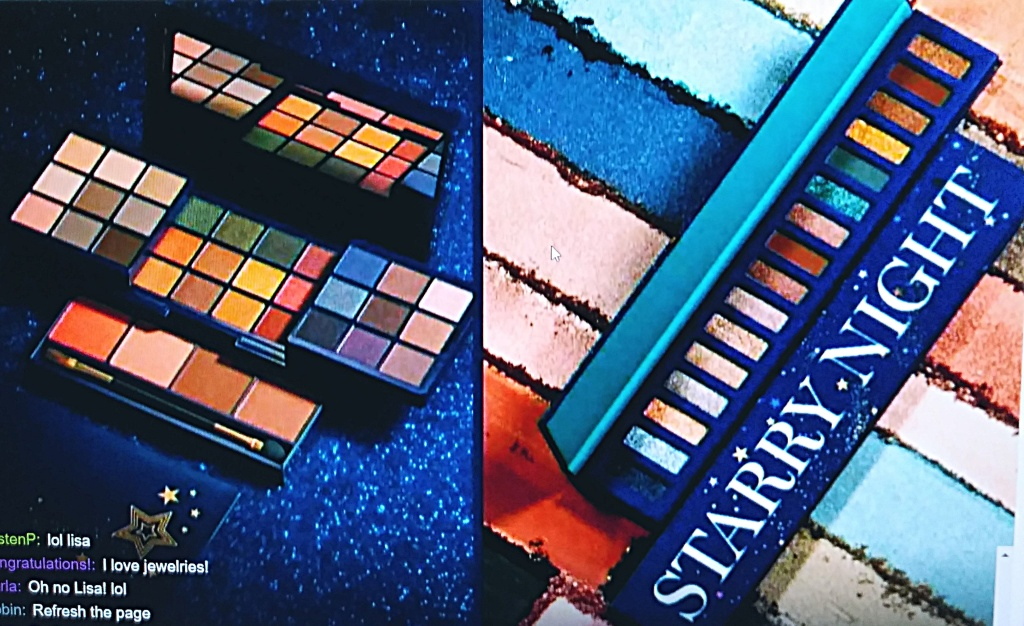 Starry Night Eyeshadow Palettes from Avon for Christmas 2021