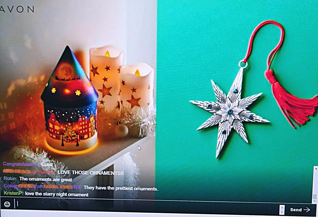 Avon collectible Christmas ornament 2021