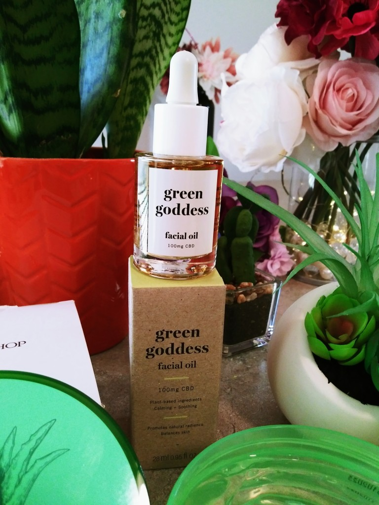 Green Goddess CBD Facial Oil from Avon