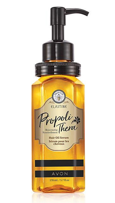 Propoli Thera Hair Oil  Serum locks in moisture to restore hair's natural luster and shine.