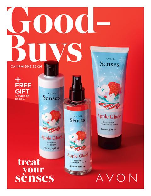 Avon Good Buys 50% Off Sale Brochure.