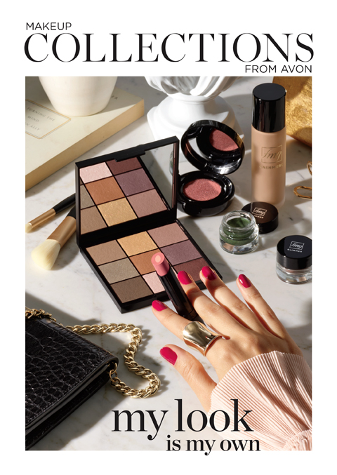 Avon My Look is My Own Makeup Collections Brochure.